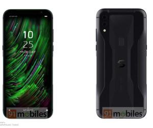 Xiaomi Black Shark Helo 2 press renders