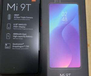 Xiaomi Mi 9T photo (box+phone+specs)