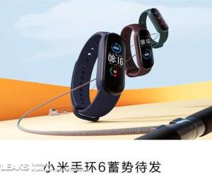 Xiaomi MI BAND6 leaked