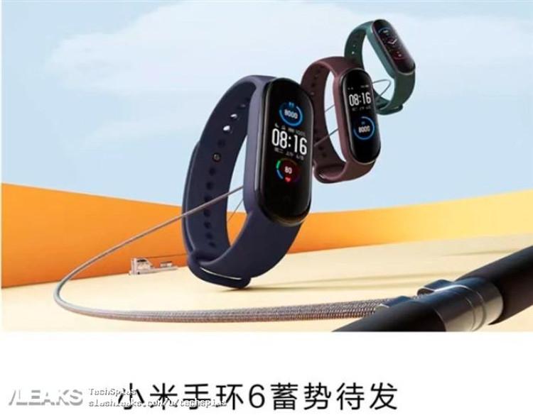 img Xiaomi MI BAND6 leaked