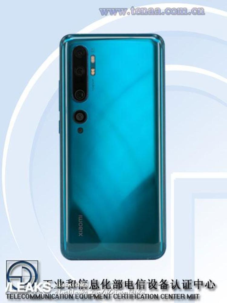 img Xiaomi Mi CC9 Pro TENAA images