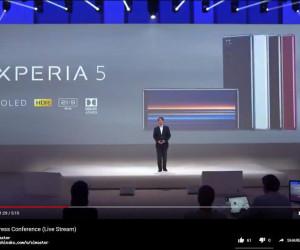 Xperia 5 confirmed through IFA live stream testing video