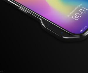 ZTE Axon V - side selfie cams, 21:9 screen renders