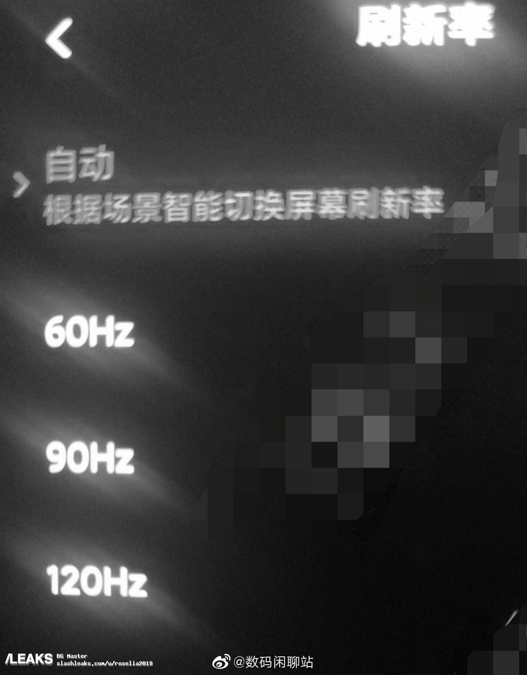 img Xiaomi 10 Prototype Has 120HZ
