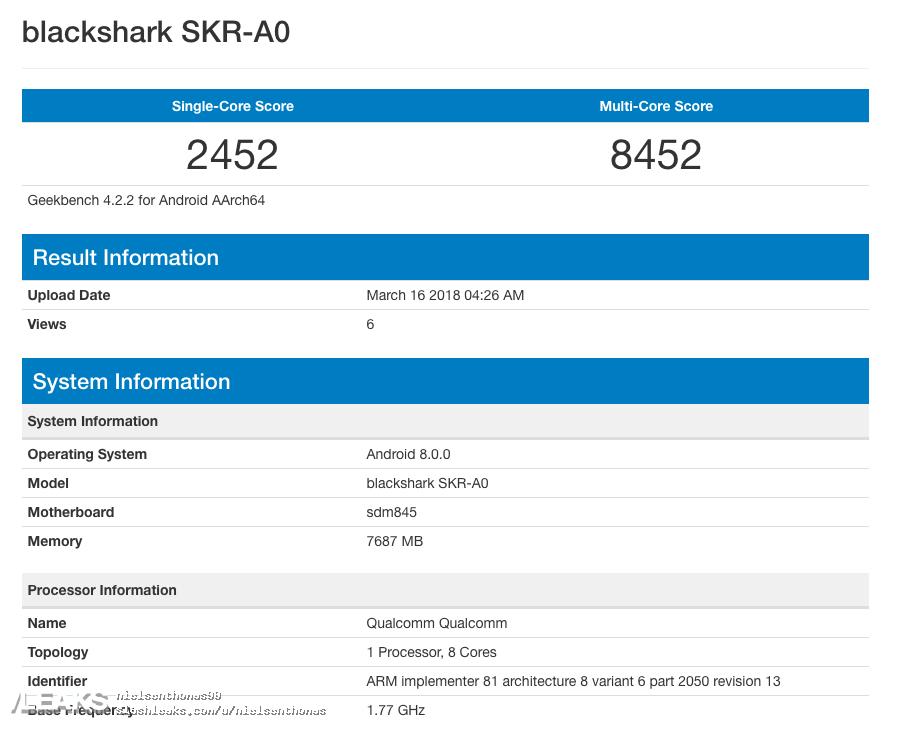 img Xiaomi's First Gaming Smartphone - Blackshark Confirmed