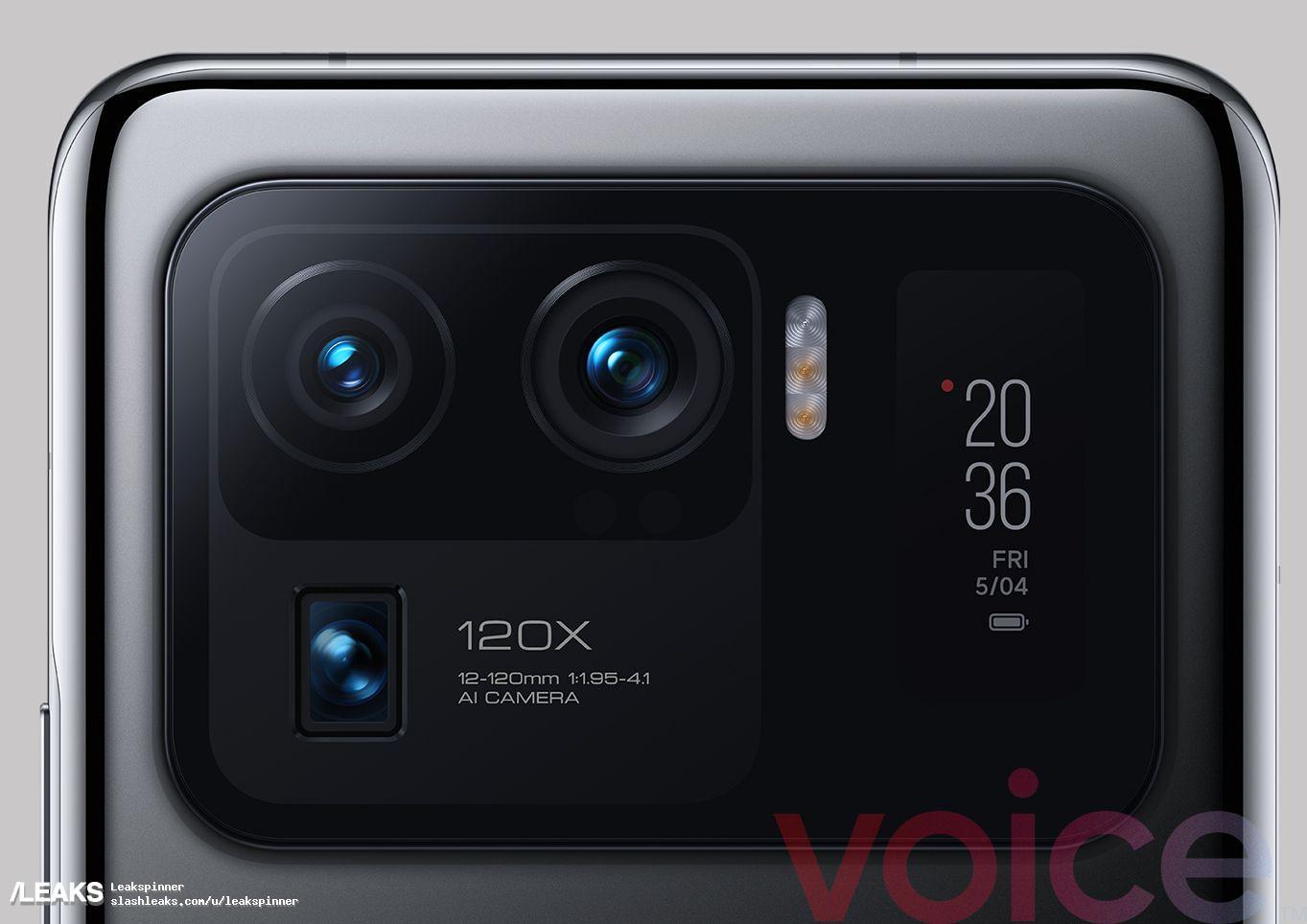 img Xiaomi Mi 11 Ultra renders leaked hours ahead of launch