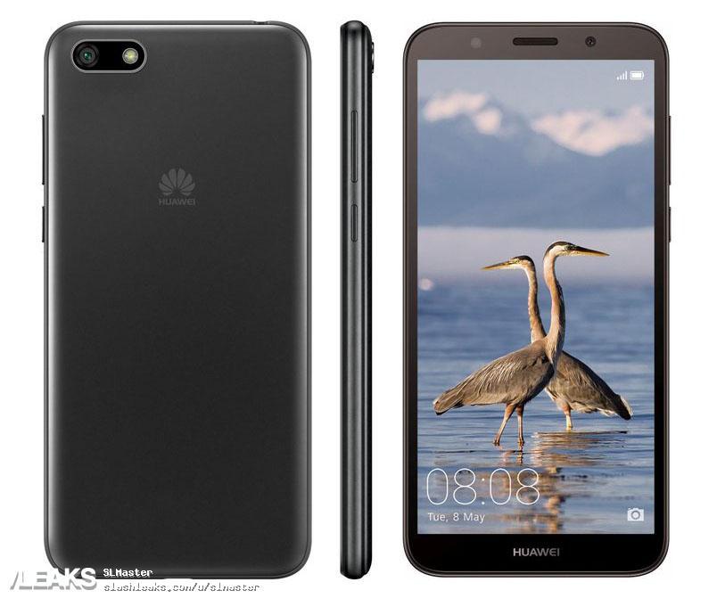 img Huawei Y5 Prime (2018) render by Evan Blass