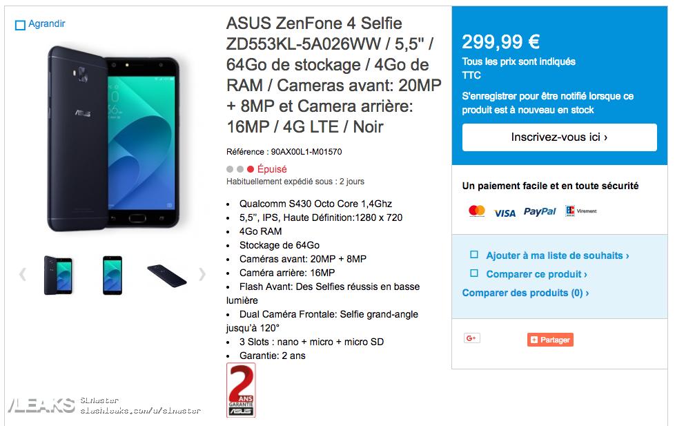 img ZenFone 4 Selfie and Selfie Pro Leaked In Full