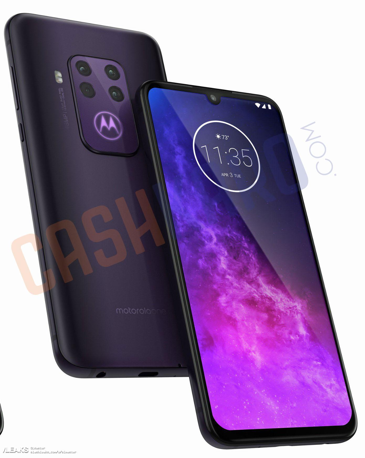 img Motorola Quad Camera Press Renders With 3 Colour Variants [UPDATED: One Zoom]