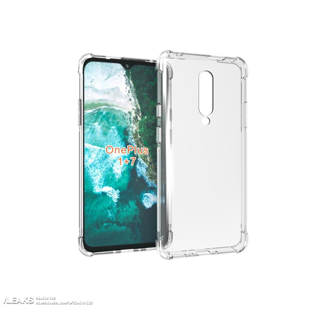 img OnePlus 7 case matches previously leaked design