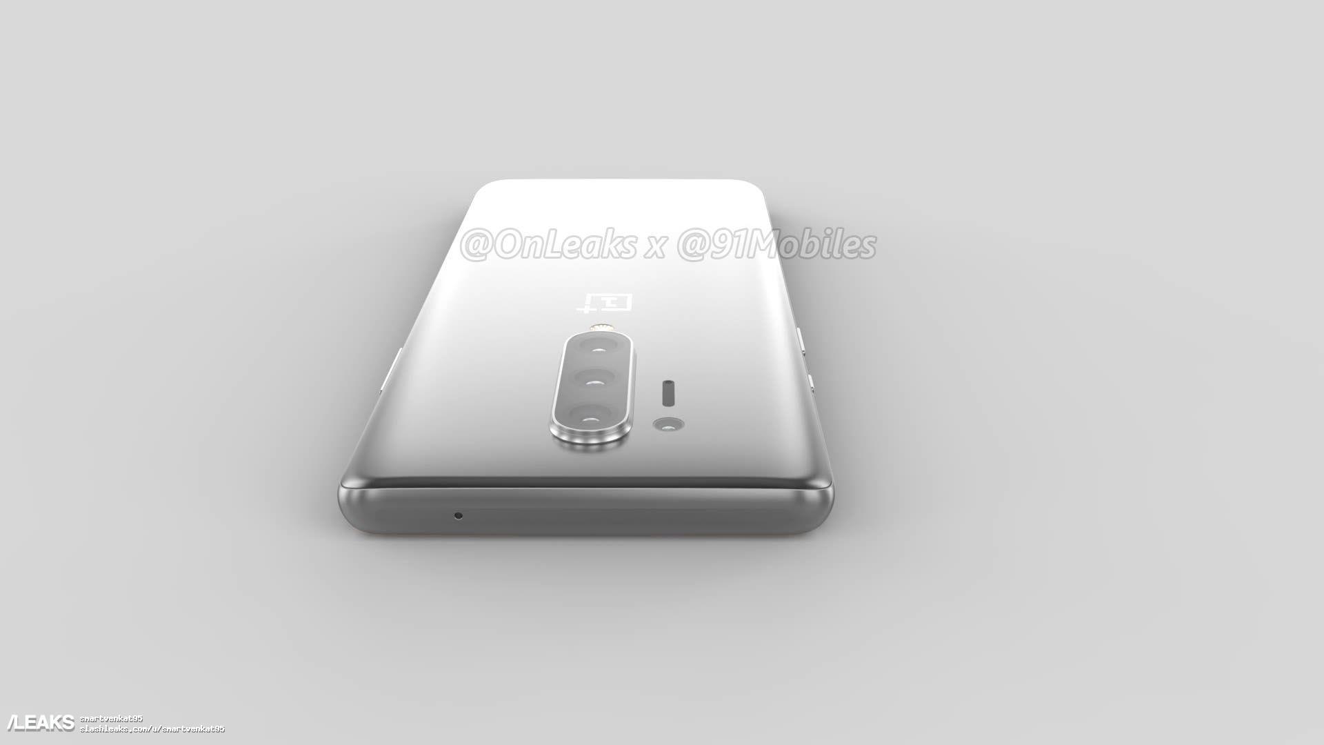 img OnePlus 8 Pro 5KレンダリングがOnLeaks x 91Mobilesを介してリークされる
