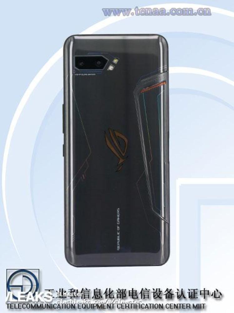 Dos du ROG Phone II (TENAA)